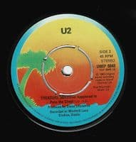 U2 New Year's Day Vinyl Record 7 Inch Island 1983 Double Pack